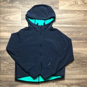 Navy and Teal Nike Jacket